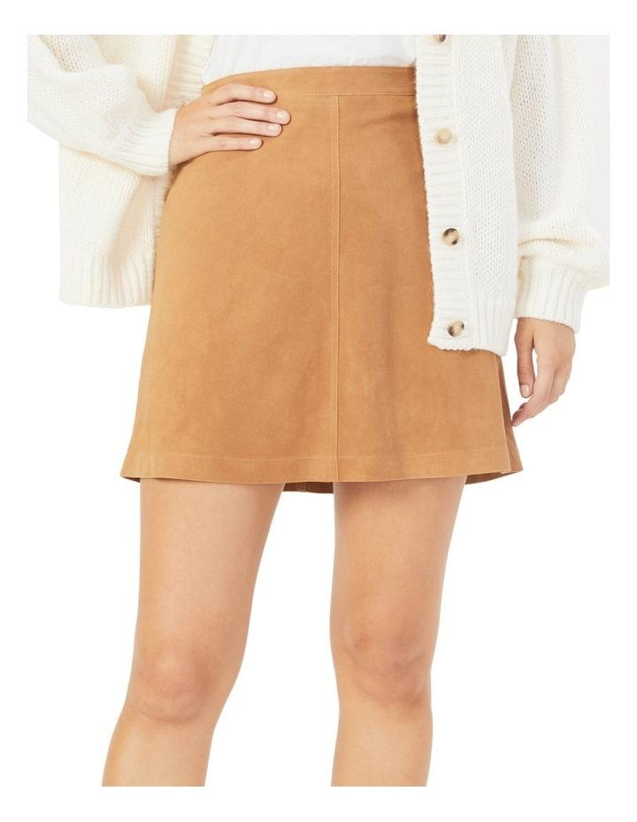 Genuine Suede Skirt image 1