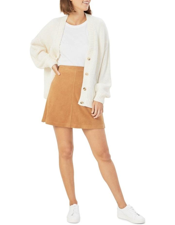 Genuine Suede Skirt image 2