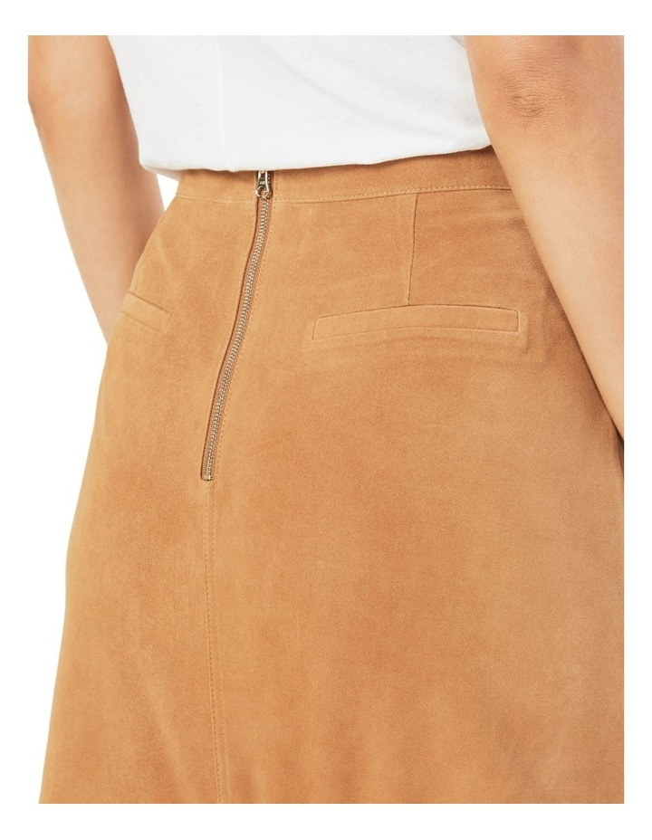 Genuine Suede Skirt image 3