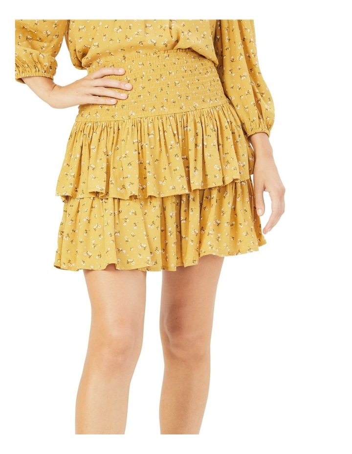 Floral Ruffle Skirt image 1