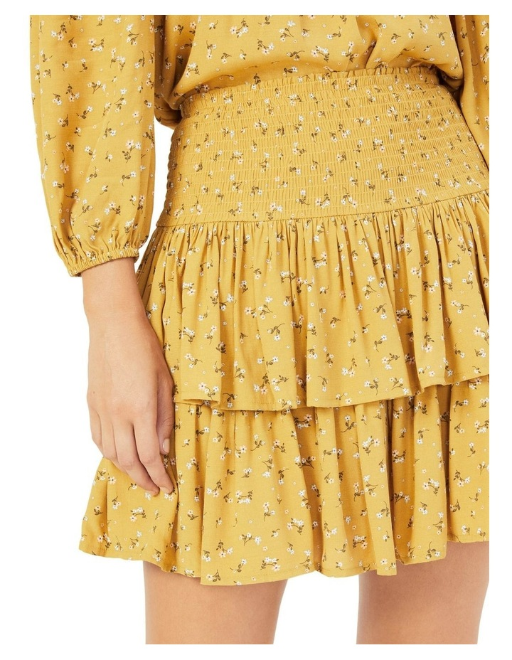 Floral Ruffle Skirt image 4