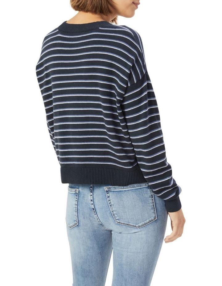 Boxy Stripe Knit image 3
