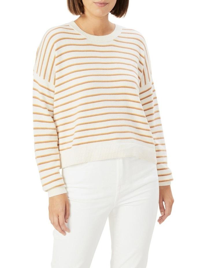 Boxy Stripe Knit image 1