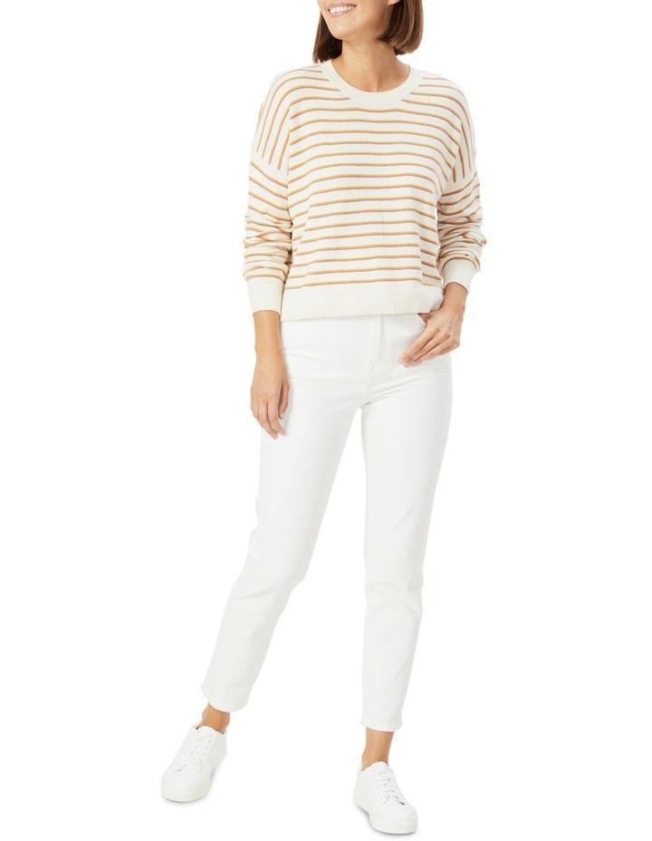 Boxy Stripe Knit image 2