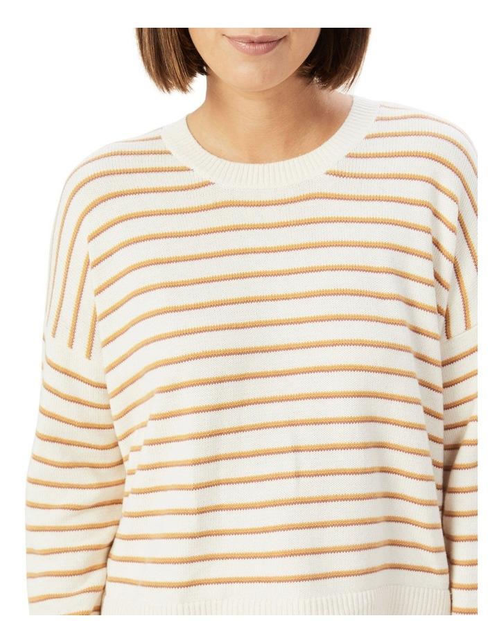 Boxy Stripe Knit image 4