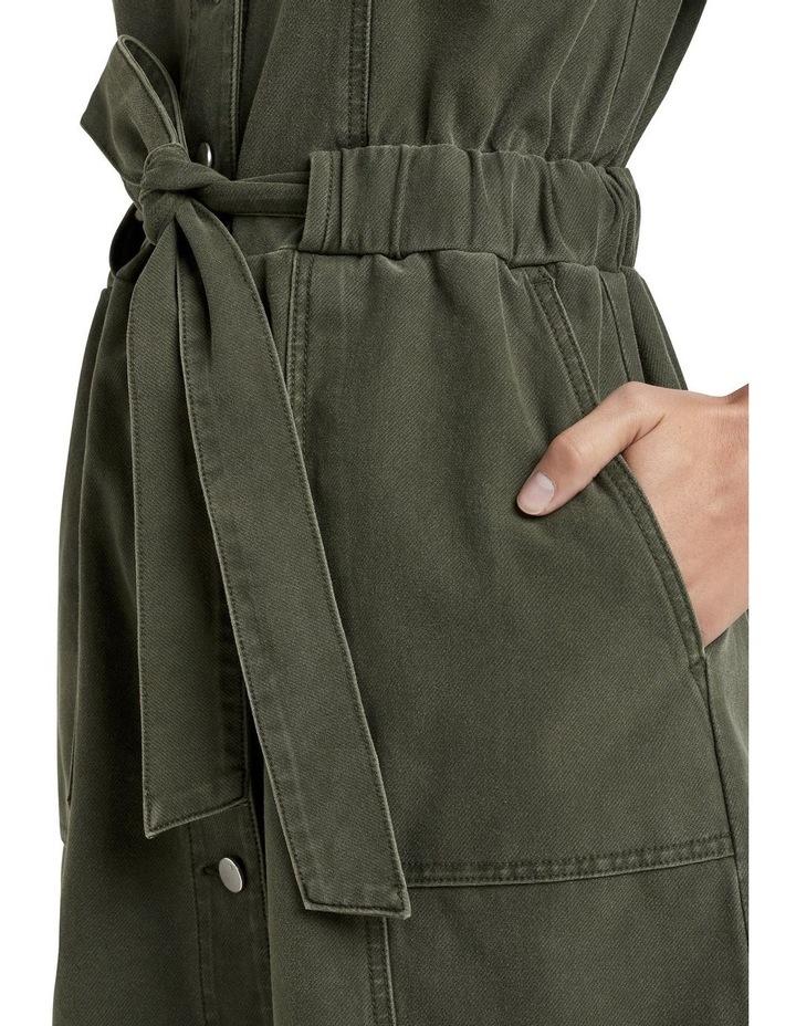 Utility Tie Waist Dress image 3
