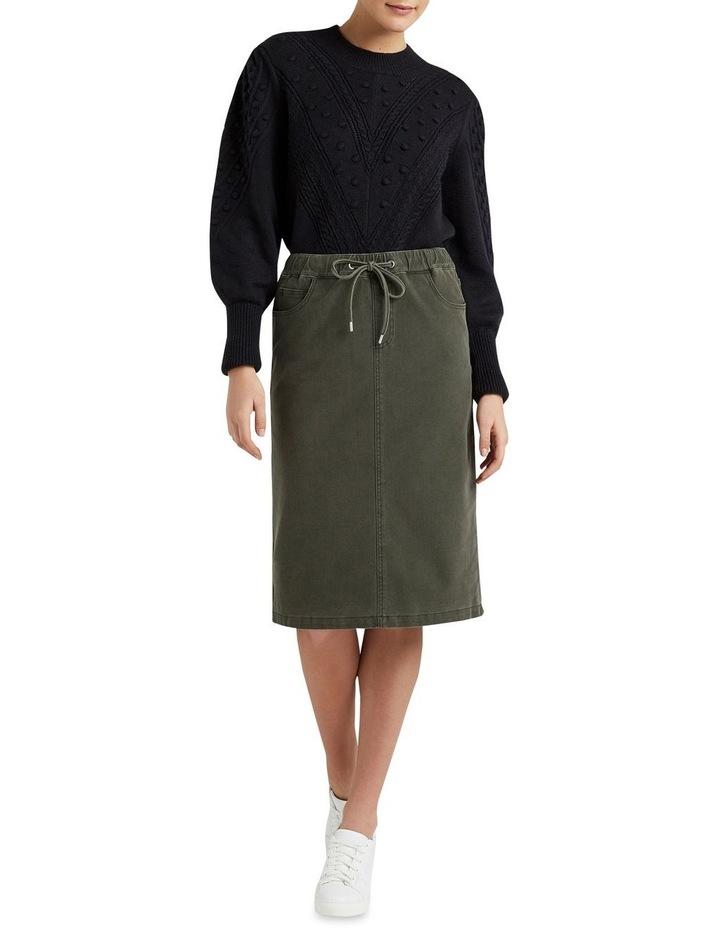 Casual Midi Skirt image 2