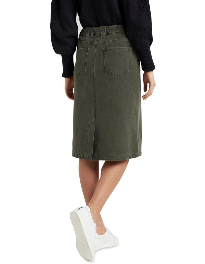 Casual Midi Skirt image 3