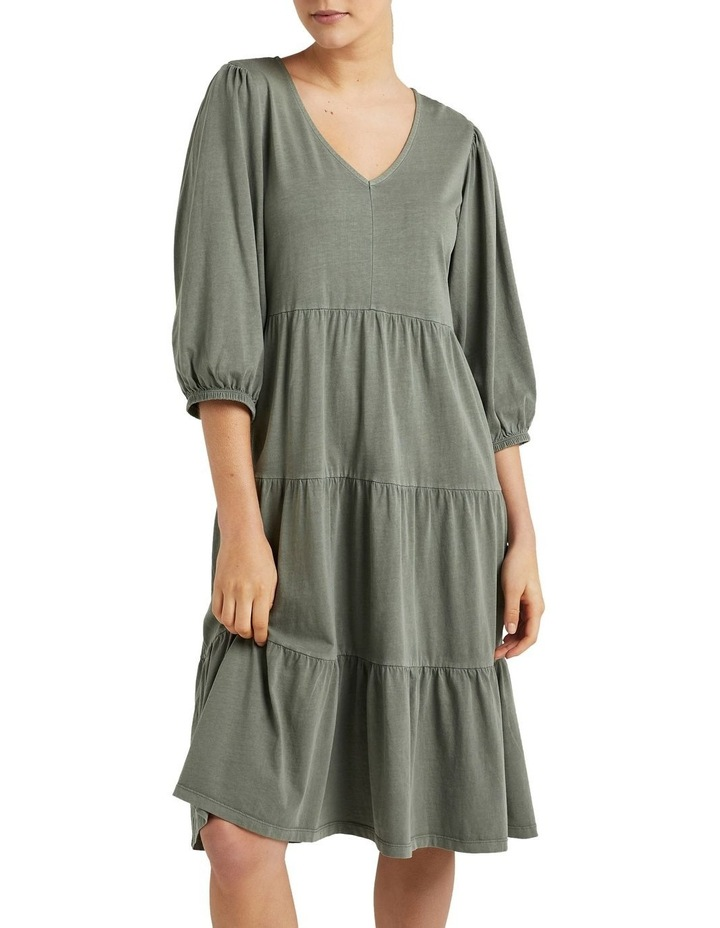 Vintage Wash Tiered Dress image 1