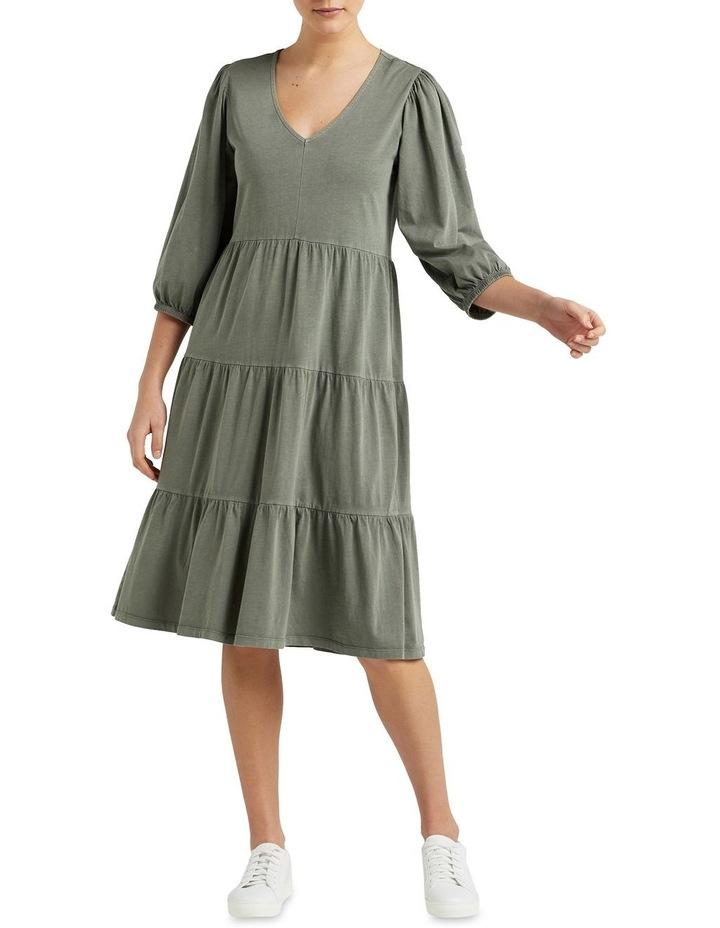 Vintage Wash Tiered Dress image 2