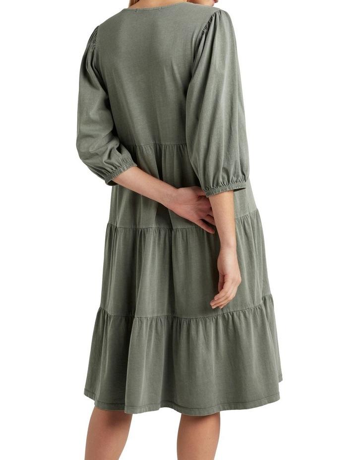 Vintage Wash Tiered Dress image 3
