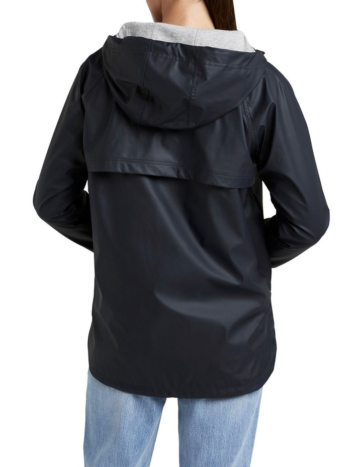 Curved Hem Raincoat image 2