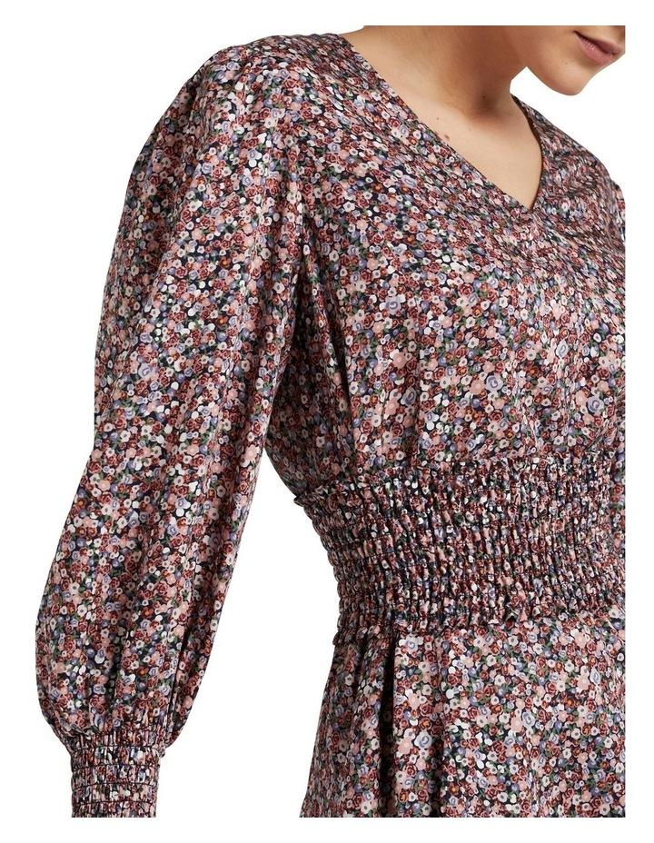 Shirred Belted Dress image 4