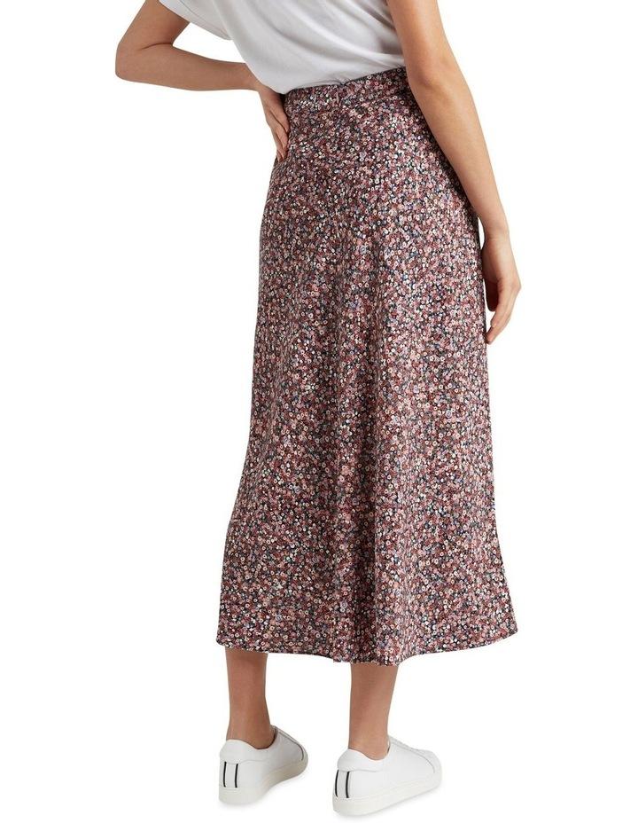Vintage Floral Midi Skirt image 3