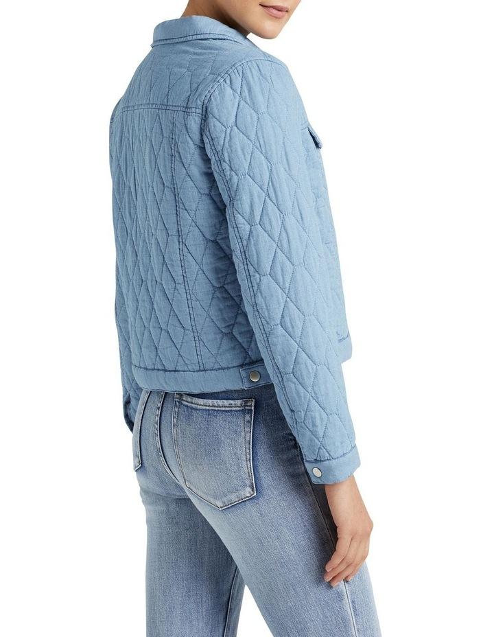 Quilted Denim Jacket image 3