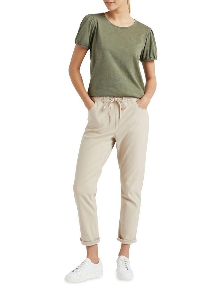 Organic Puff Sleeve T Shirt image 2