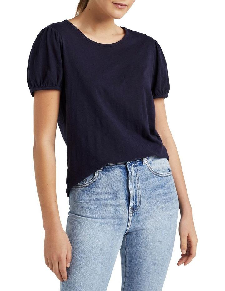 Organic Puff Sleeve T Shirt image 1