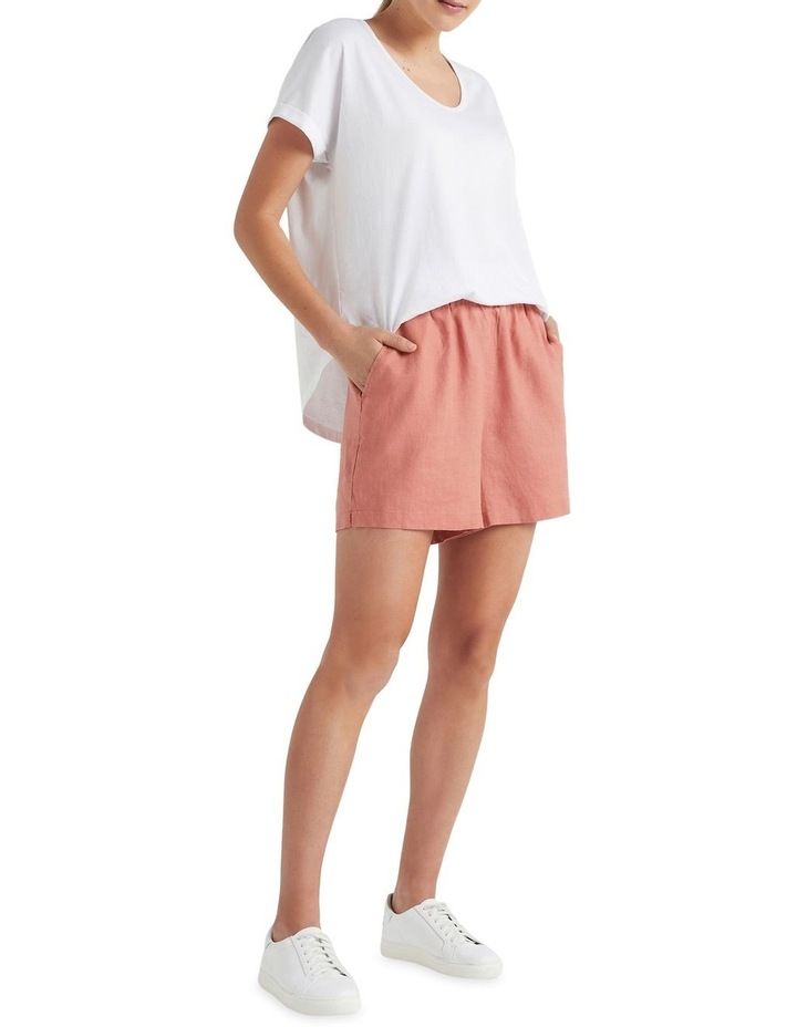 French Linen Relaxed Short image 2