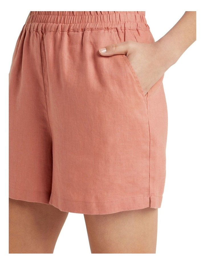 French Linen Relaxed Short image 4