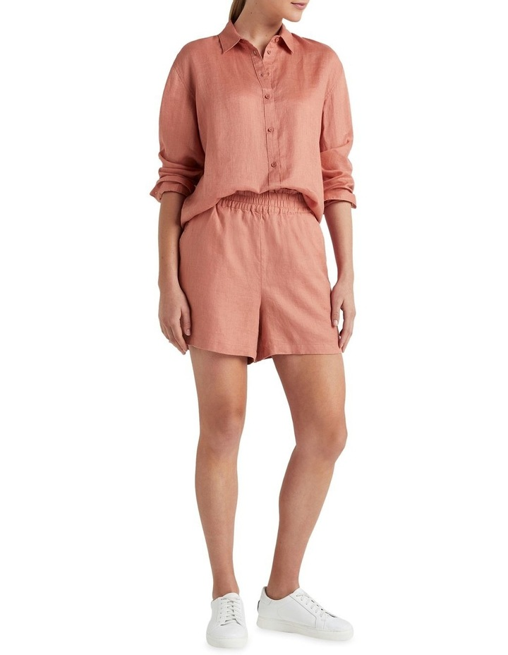 French Linen Boyfriend Shirt image 2