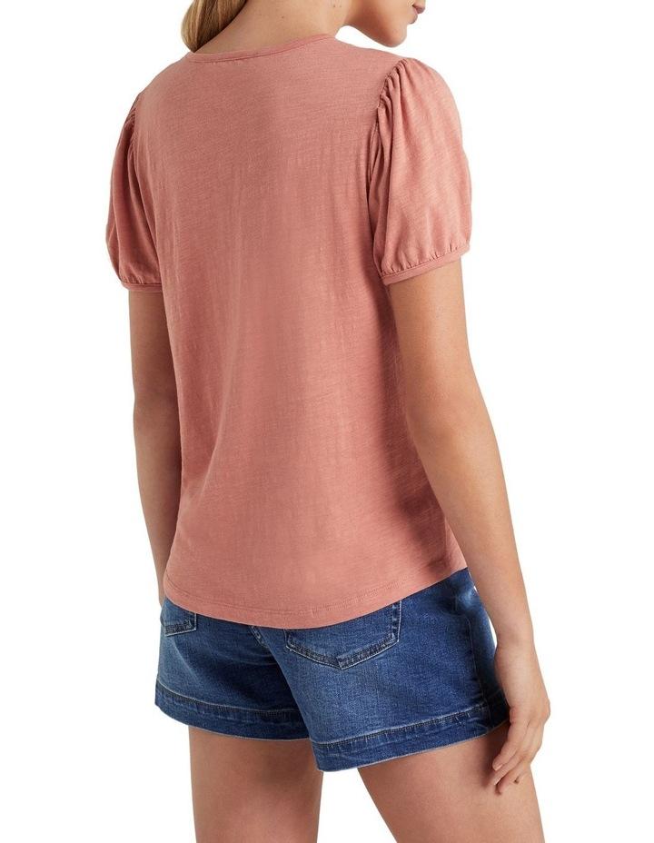 Organic Puff Sleeve T Shirt image 3