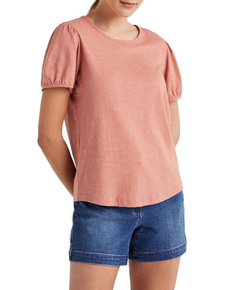 Organic Puff Sleeve T Shirt image 5