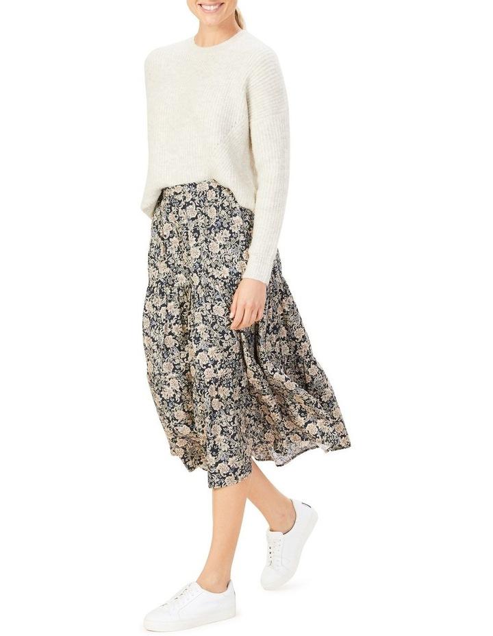 Paisley Tiered Skirt image 3