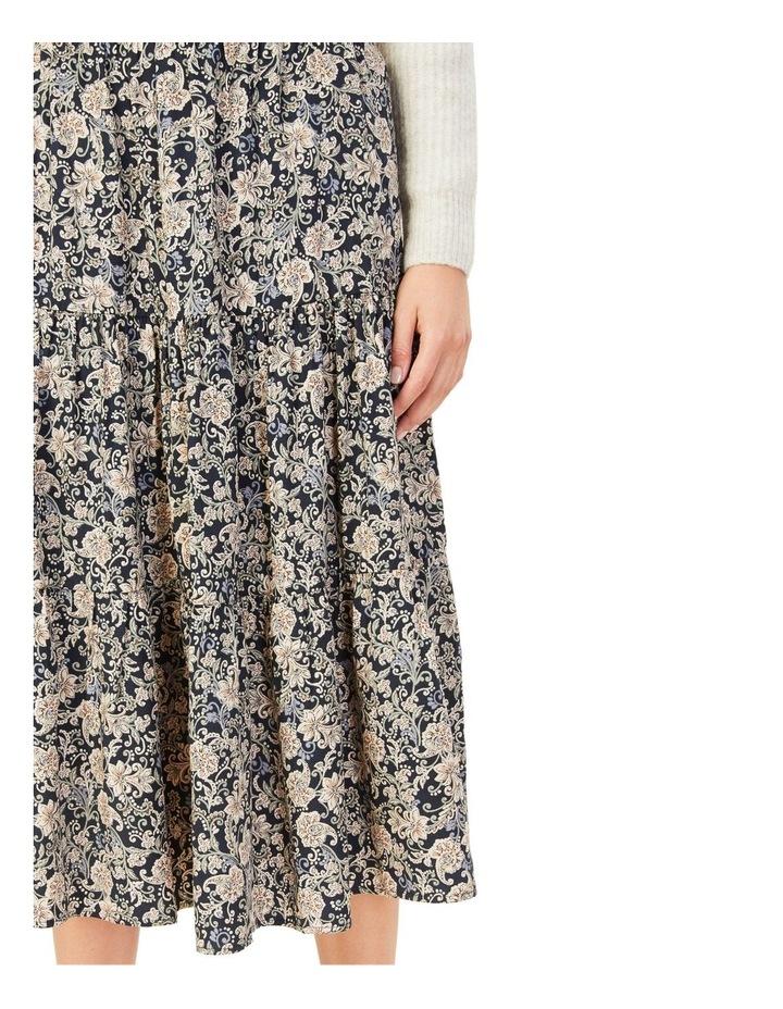 Paisley Tiered Skirt image 5