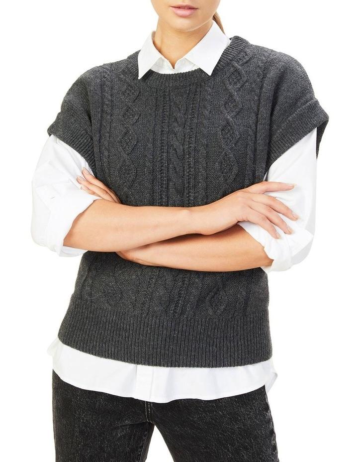 Cable Knit Vest image 1