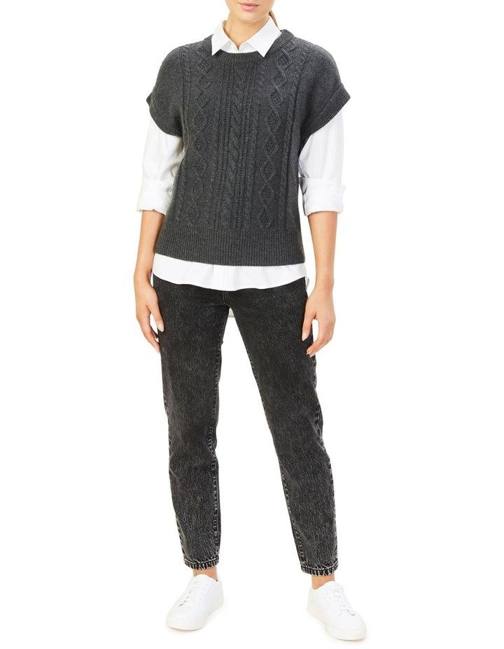 Cable Knit Vest image 3