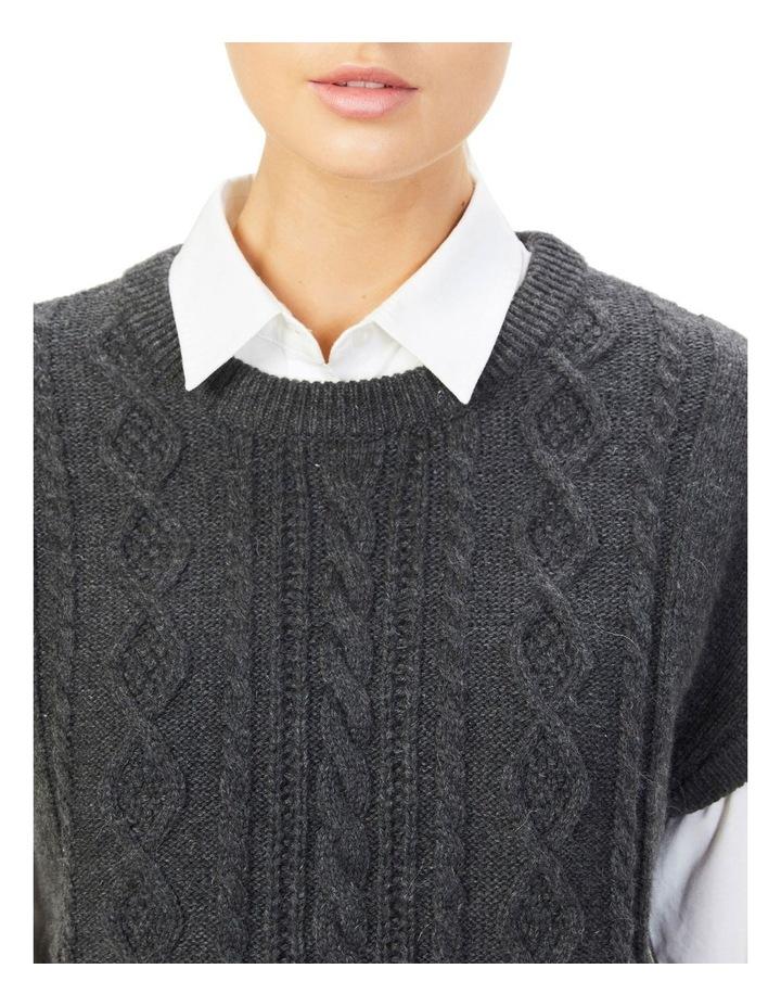 Cable Knit Vest image 5