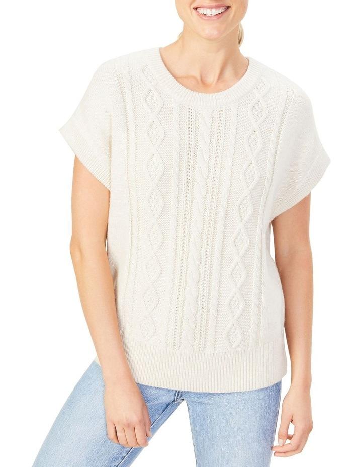 Cable Knit Vest image 2
