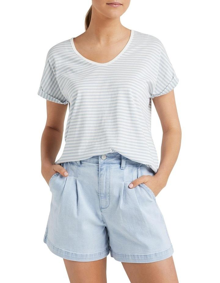 Organic Dipped Hem T Shirt image 1