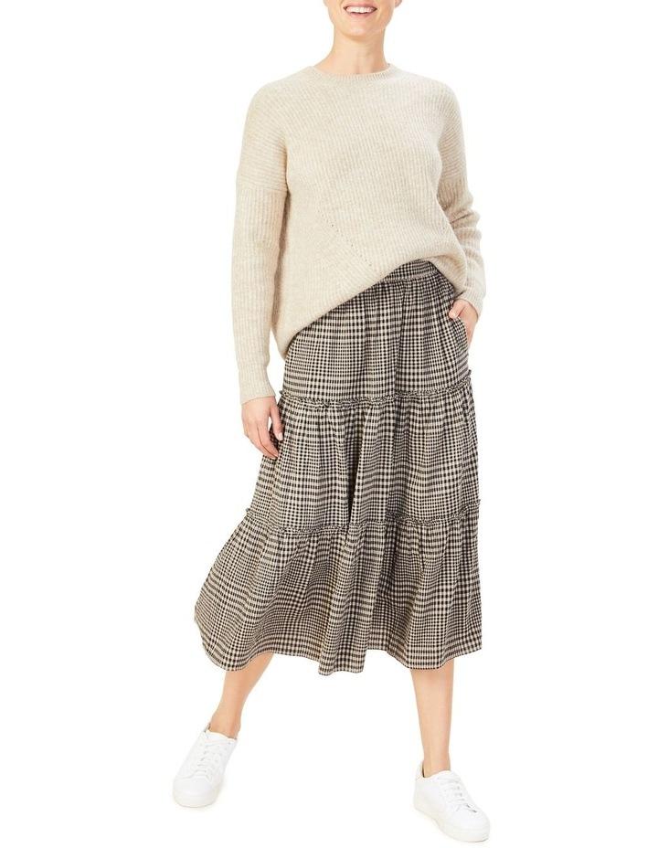 Textured Check Skirt image 2