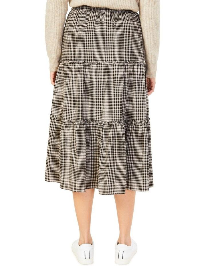 Textured Check Skirt image 3