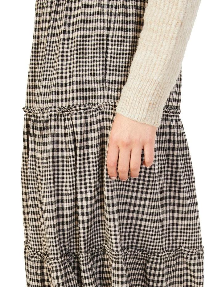 Textured Check Skirt image 4