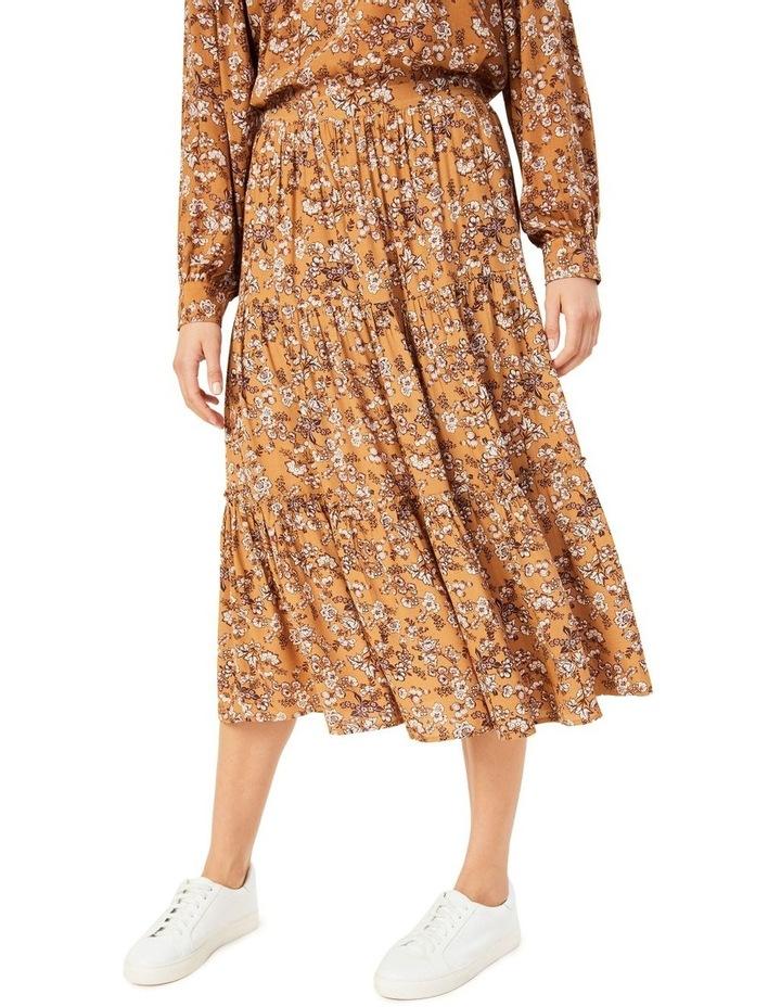 Winter Floral Skirt image 1