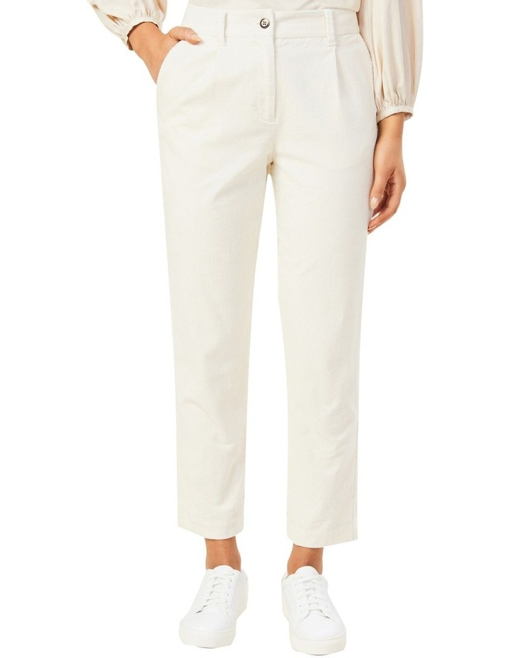 Cord Pleat Front Pant image 1