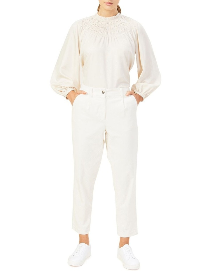Cord Pleat Front Pant image 2