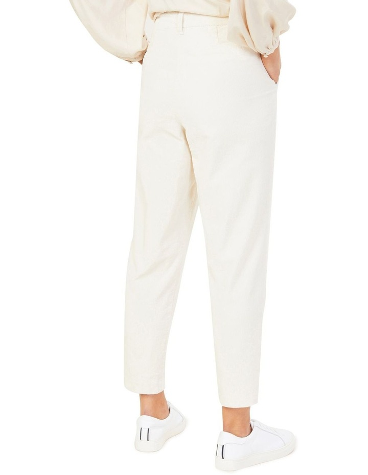 Cord Pleat Front Pant image 3
