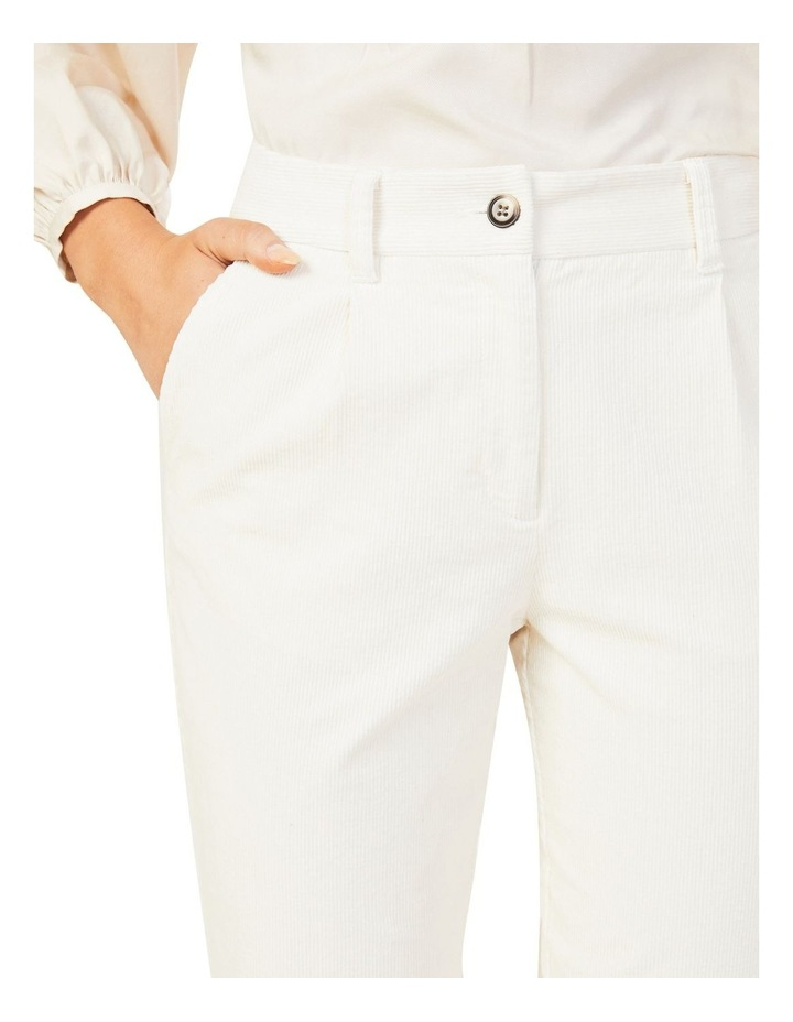 Cord Pleat Front Pant image 4