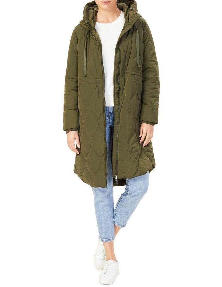 Quilted Longline Jacket image 1