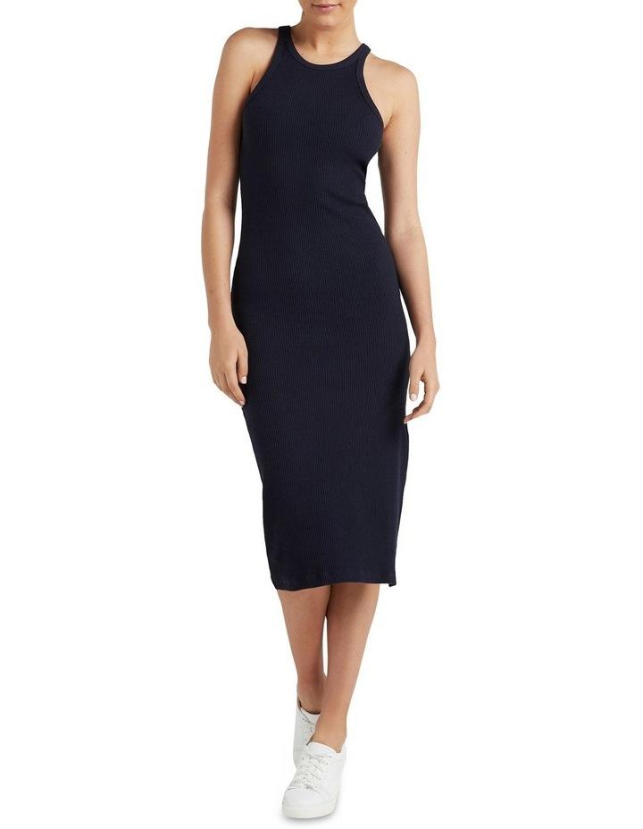 Cotton Ribbed Dress image 1