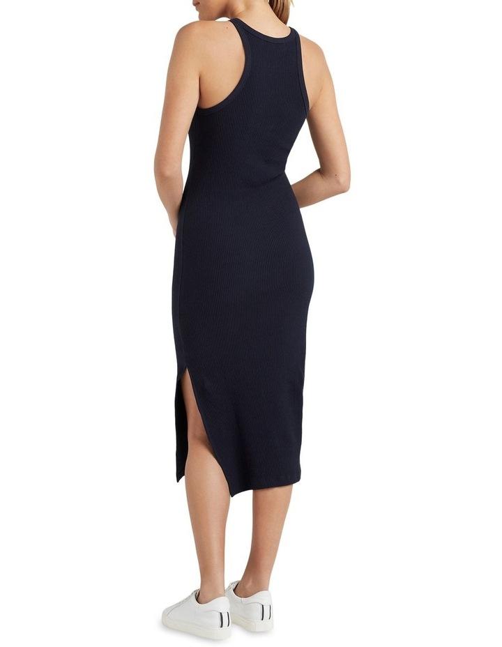Cotton Ribbed Dress image 3