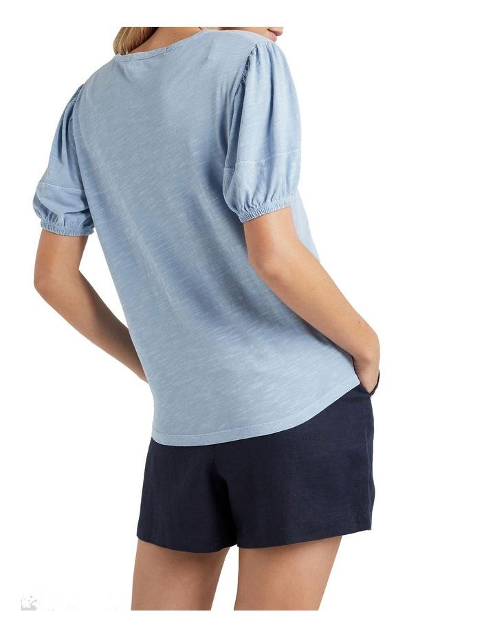 Organic Stitch Detail T Shirt image 3