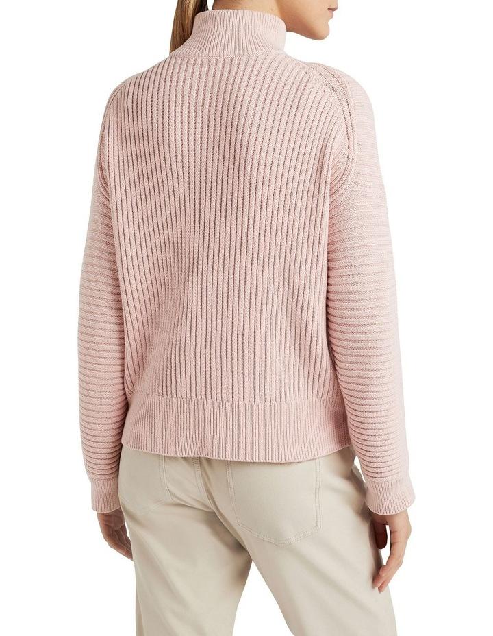 Cotton Half Zip Knit image 3