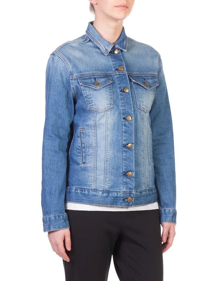 Boyfriend Denim Jacket image 2