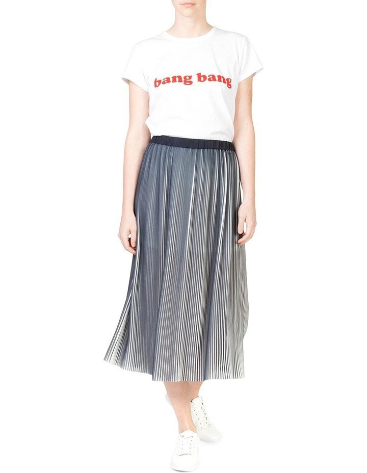 Pleat Swing Skirt image 4