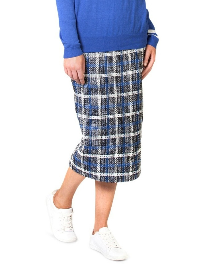 Check Pencil Skirt image 3