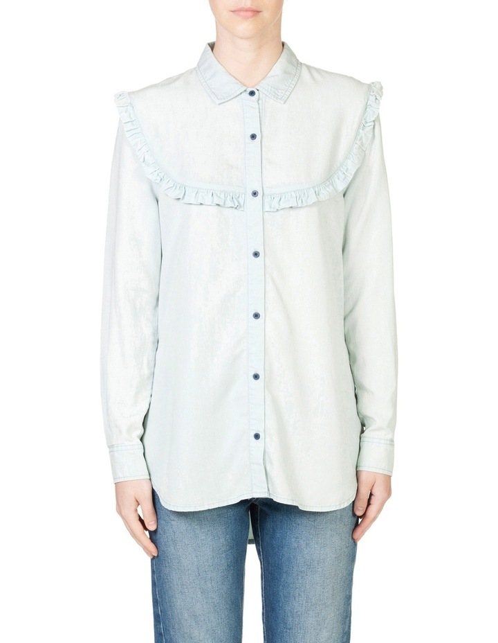 Frill Chambray Shirt image 1